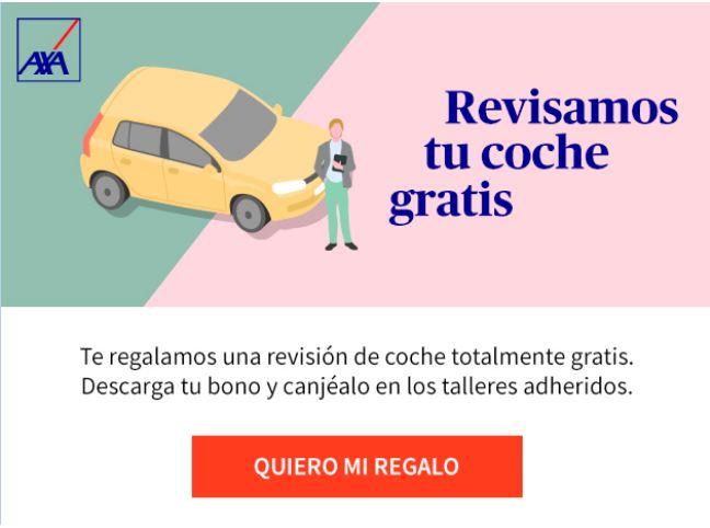 Revisamos tu coche gratis con esta promoción de Axa